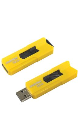 Флэш-диск 32GB SMARTBUY Stream USB 2.0, желтый, SB32GBST-Y